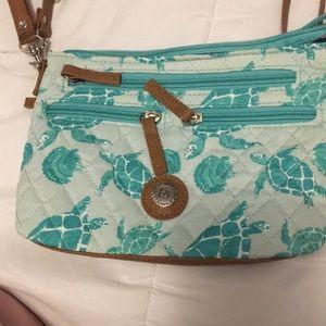 Turtle and sea shell bag